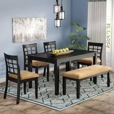 oneill 6 piece wood dining set