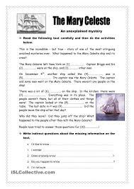 The Mary Celeste Mystery Mary Celesteprintable