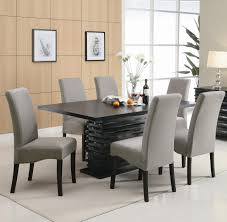 Ebay Kitchen Table And Chairs Pc Contemporary Formal Dining Room Sets Ebay For Dining Table Ebay
