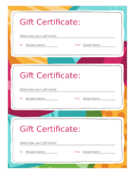 Free Printable Gift Certificate Template Word Gift Certificate Form Edit Fill Sign Online Handypdf
