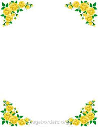 Small Picture Printable yellow flower border Use the border in Microsoft Word