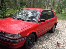 Corolla SX 1990 5D Hatchback 5 SP Manual 1 6L Electronic F INJ in ...