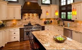 santa cecilia granite countertops for a fresh and modern kitchen rh deavita net what color countertop santa cecilia granite with tile floor backsplash ideas
