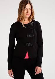 armani exchange women s jackets armani exchange black blazer l10j7