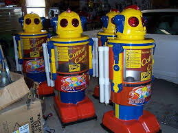 Old Candy Vending Machine Inspiration Cotton Candy Robot By Target International Holdings Ltd The Old
