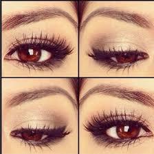 so beautiful simple makes brown eyes pop