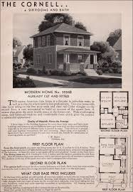 Small Picture Sears Cornell house kit 1925 1938 Six or seven rooms and one