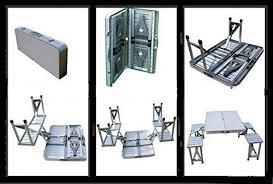 aluminium portable folding picnic table chairs set with umbrella. buy aluminium folding picnic table \u0026 chairs set + umbrella aluminium portable folding picnic table chairs set with umbrella a