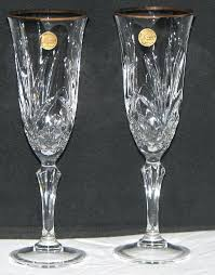 crystal champagne glasses vintage baccarat uk crystal champagne glasses