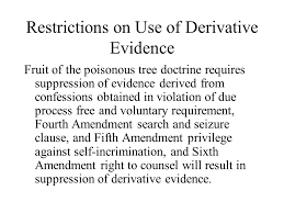 Disclosing And Surpessing Evidence By Kelly Stainback On PreziFruit Of Poisonous Tree Doctrine Definition