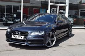 audi a7 2014 black. used 2014 14 audi a7 30 tdi quattro s line black edition 5d auto 245 bhp audi black 2