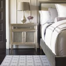 Silver Leaf Bedroom Furniture My Liana Taupe Silver Leaf Nightstand Is A Study In Luxury Design