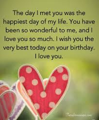 Short And Long Romantic Birthday Wishes For Boyfriend The Right