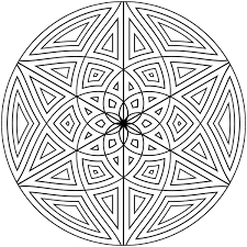 Here presented 53+ geometric drawing designs images for free to download, print or share. Free Printable Geometric Coloring Pages For Adults