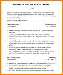 7 Resume Format For English Language Teacher Gin Education