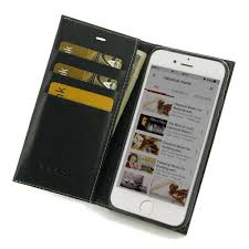 leather book stand wallet case for apple iphone 7