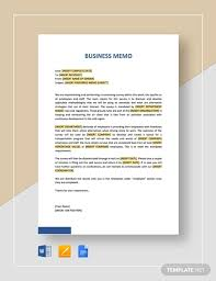 Company Memo Template 12 Word Pdf Google Docs Documents