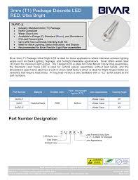 Bivar Flexible Light Pipe Datasheet For 3urc Manualzz Com