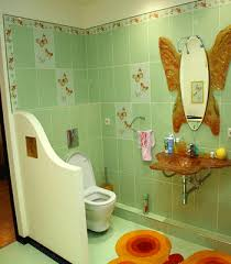Kids Bathroom Ideas, Charming Girls Bathroom Decor