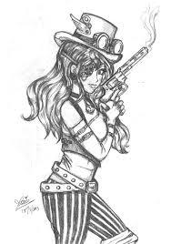 Steampunk Girl by alwizhyper ...