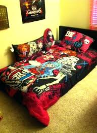 monster high twin bed set my monster high bed set with back rest pillow and monster high twin bed set