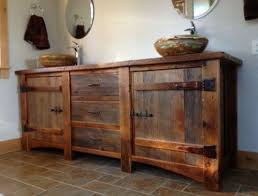 rustic pine bathroom vanities. Rustic Pine Bathroom Vanities Brown Varnished Teak Wood Base Vanity Cabin Wall Mirror Plus Lighting E