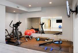 Kenwood 10,000 square foot renovation contemporary-home-gym