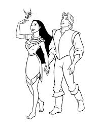 Coloriage De Disney Pocahontas Princesse Imprimer Artherapie Ca