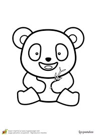 Coloriage Panda Sur Hugolescargot Com