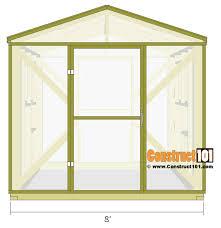 green house plans. Greenhouse Plans \u2013 8\u0027x8\u2032 Overview Green House
