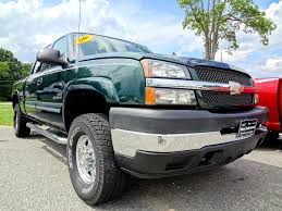 2004 CHEVROLET SILVERADO 2500HD CREW CAB Green - YouTube