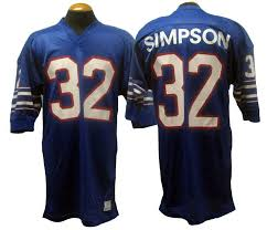 1973 Bills Lot O Jersey Game-used Buffalo Simpson j Detail -