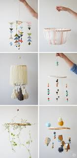 diy embroidery hoop baby mobile  modern nurseries diy baby and