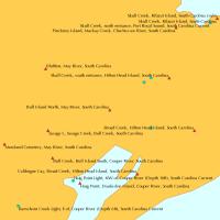 Delaware Bay Tide Chart 2014 Cape May Atlantic Ocean