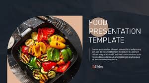 Food Presentation Template Stylish Food Template Free Powerpoint Presentation