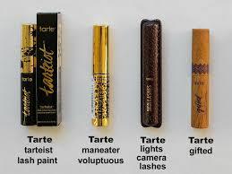 Tarte Eyeliner Lights Camera Lashes Tarte Mascaras Tarteist Lash Paint Maneater Lights Camera