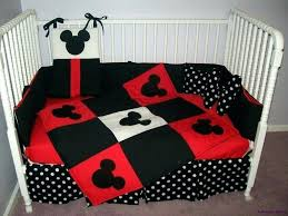 minnie mouse crib bedding set with per mickey nursery this inspiration baby