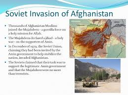 Image result for Soviet Union's invasion of Afghanistan the previous December