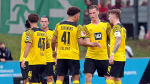 They are one of the most successful clubs in germany, winning the domestic title eight times as well as the champions league on one occasion in 1997. Bvb Borussia Dortmund Gegen Den Fc Bologna Heute Live Die Ubertragung Des Testspiels Im Tv Und Im Live Stream Goal Com