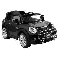 Sport Series mini cooper bmw : Amazon.com: Costzon Black BMW Mini Cooper 12V Electric Kids Ride ...