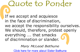 Mary Mcleod Bethune Quotes Enchanting Quotes About Acquiesce 48 Quotes