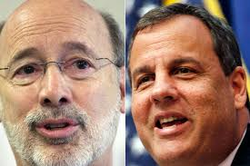 Wolf, Christie amid the chatter of governors association meeting