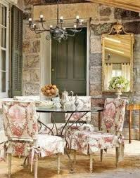dining area via french country on facebook