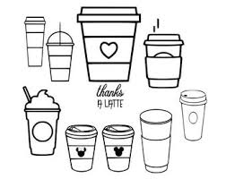 Browse our coffee cup outline images, graphics, and designs from +79.322 free vectors graphics. Coffee Cup Outline Etsy