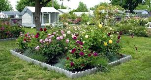 Small Picture Small garden design with roses Wilson Rose Garden