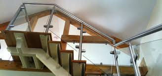 stair glass barades stainless steel handrails the glass barade company