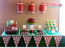 football baby shower home design ideas football decorations full size