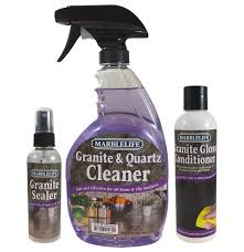 marblelife granite countertop clean seal care kit without buffer gqc 41110 gsl 41140 ggc 41130