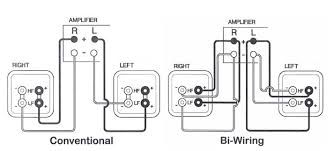 what is bi wiring? selby acoustics selby Bi Amp Wiring Diagram a bi wired bi amping wiring diagram