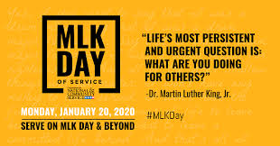 Image result for martin luther king jr. day 2020
